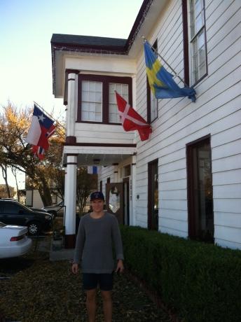 En skandinavisk affär som vi har hittat i Plano.