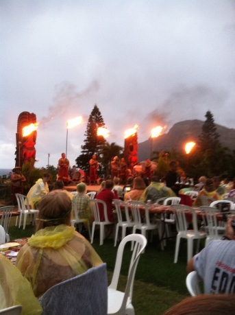Luau, den hawaiianska festen